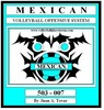 Thumbnail EB-503-007 MEXICAN Volleyball Play Book